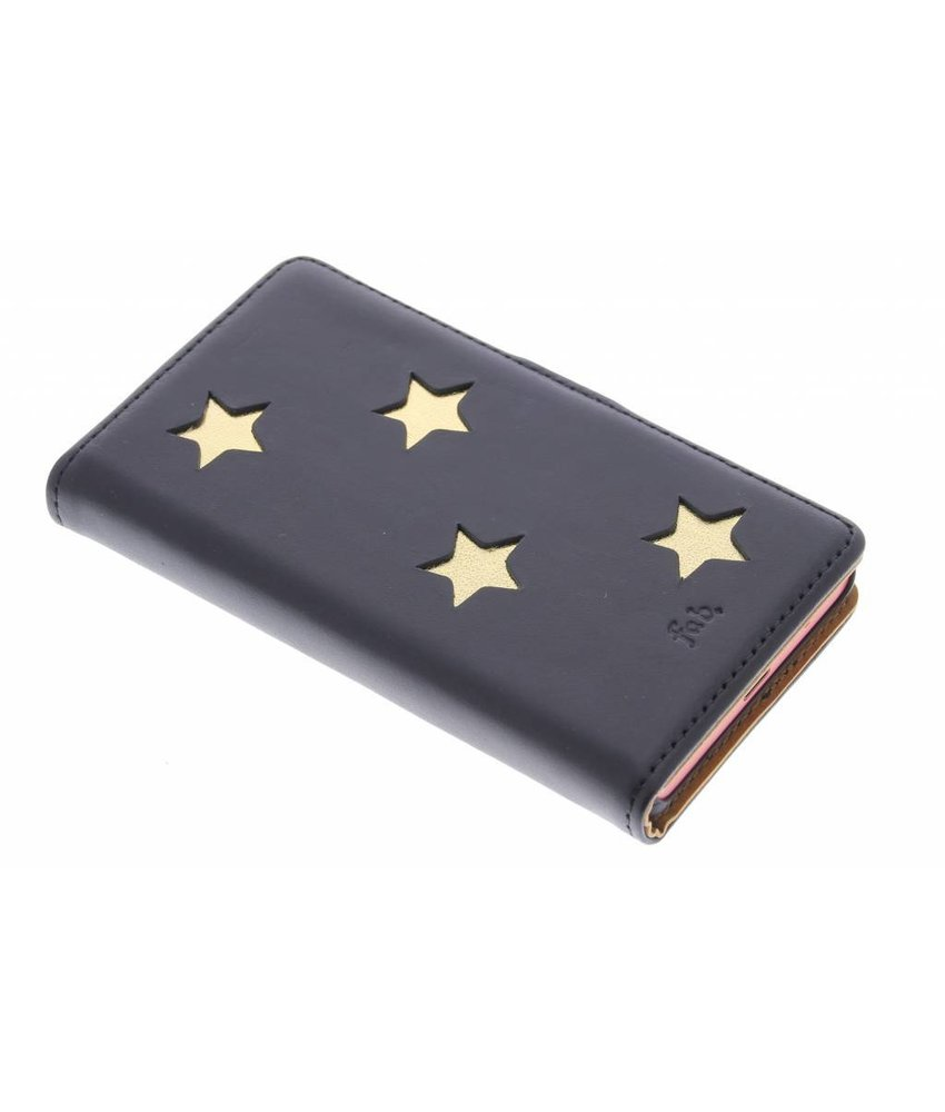 Fab. Gold Reversed Star Booktype Xperia Z5 Compact