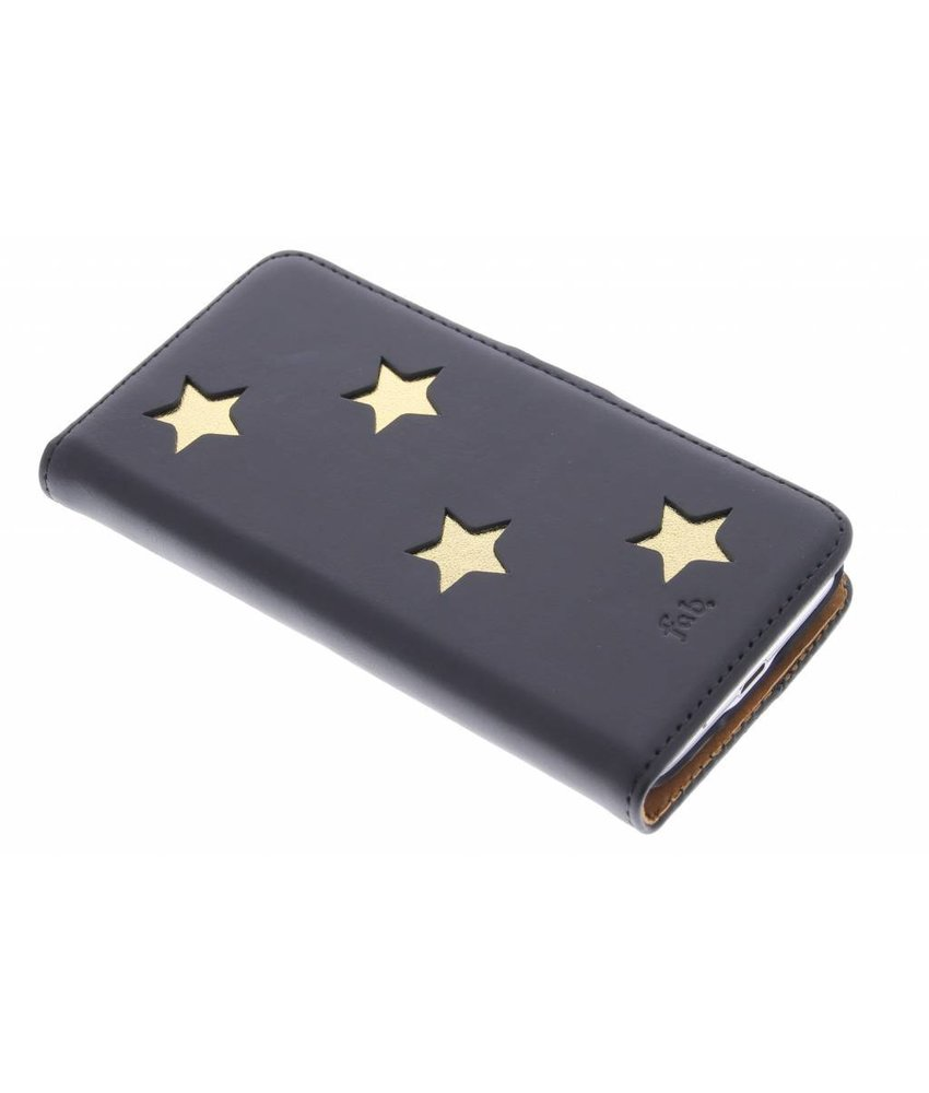 Fab. Gold Reversed Star Booktype Galaxy S5 Mini