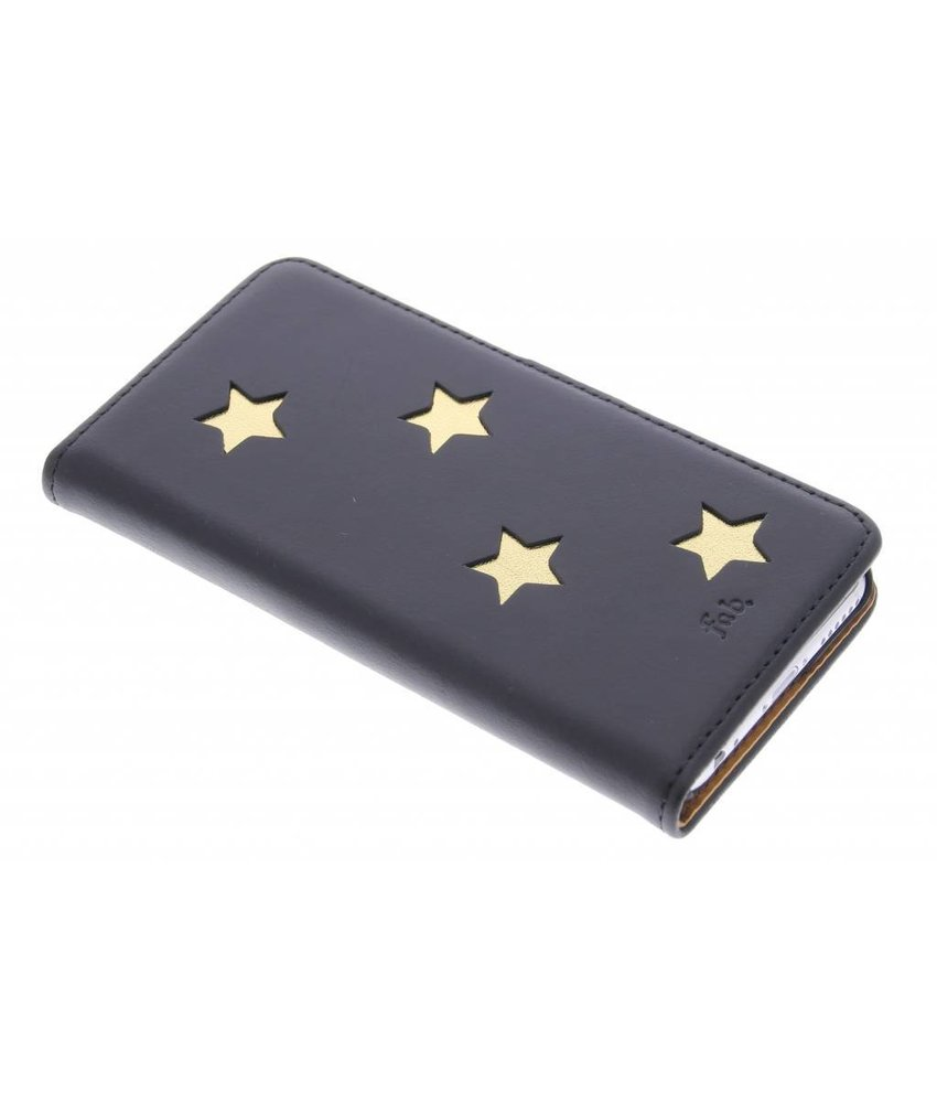 Fab. Gold Reversed Star Booktype iPhone 6 / 6s