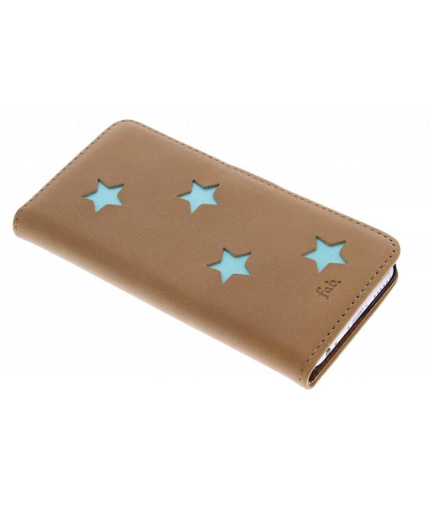 Fab. Aqua Reversed Star Booktype iPhone 6 / 6s