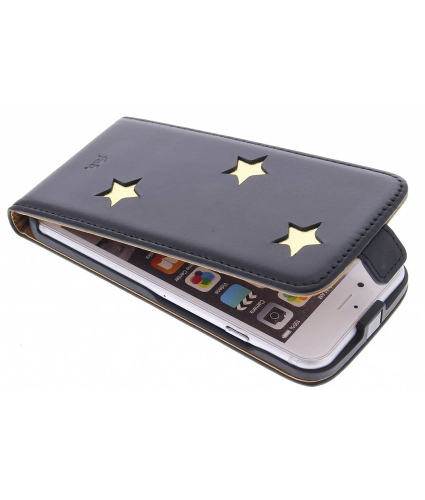 Fab. Gold Reversed Star Flipcase iPhone 6 / 6s