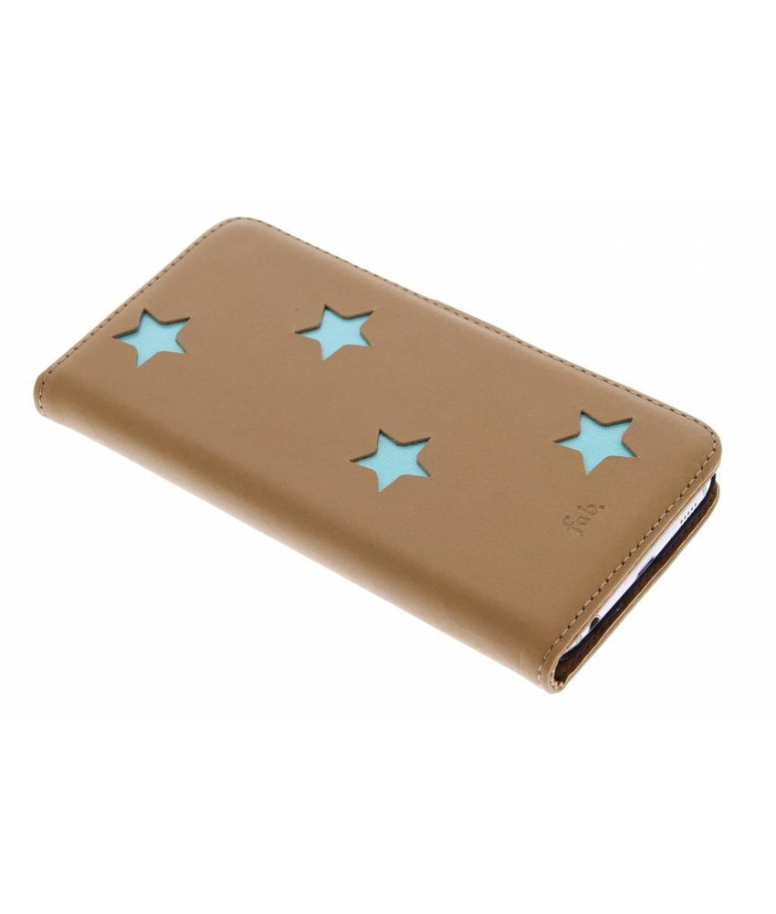 Fab. Aqua Reversed Star Booktype Samsung Galaxy S6