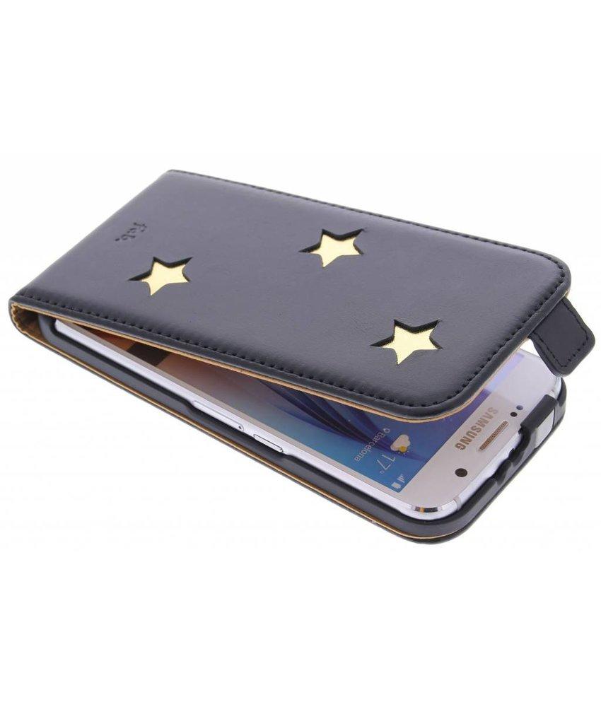 Fab. Gold Reversed Star Flipcase Samsung Galaxy S6