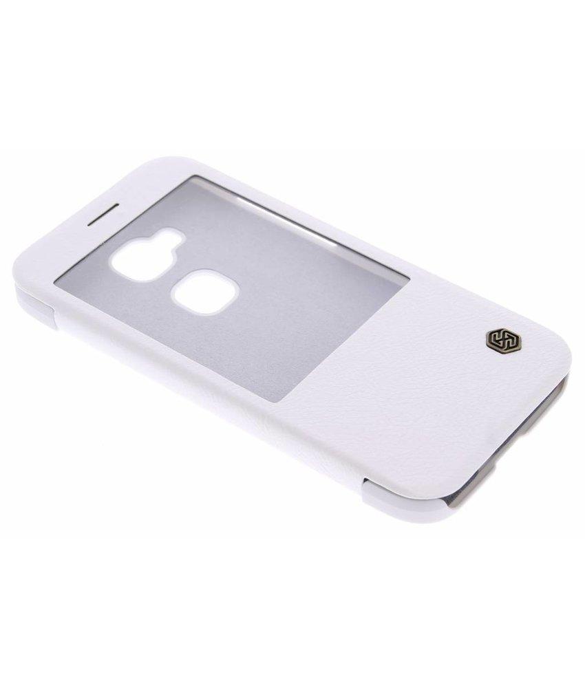 Nillkin Qin Leather slim booktype Huawei G8 - Wit