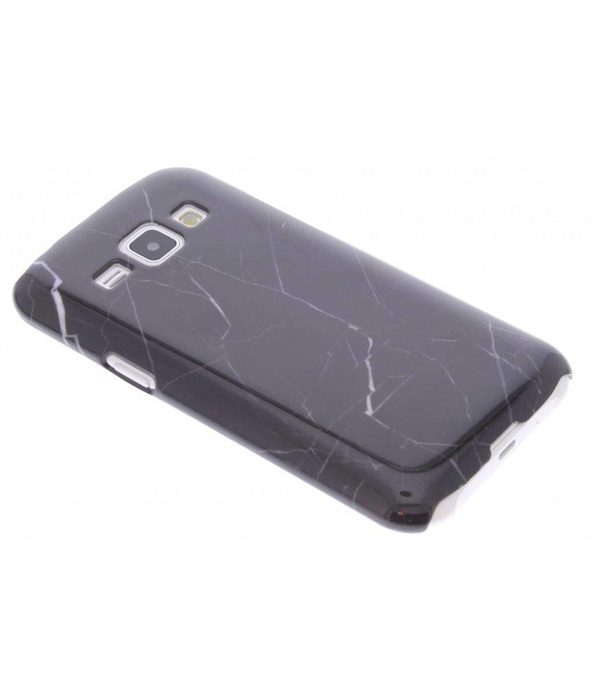 Zwart marmer hardcase Samsung Galaxy J1