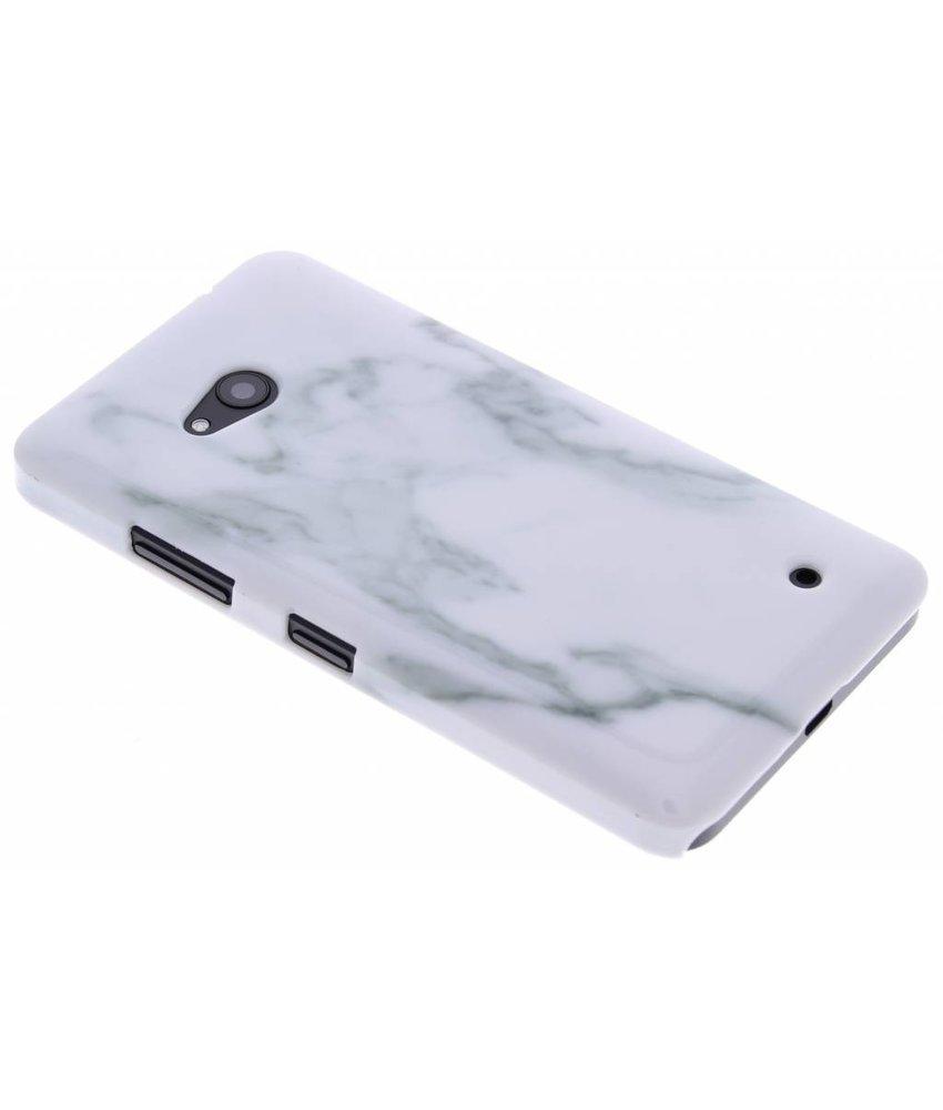 Marmer hardcase hoesje Microsoft Lumia 640