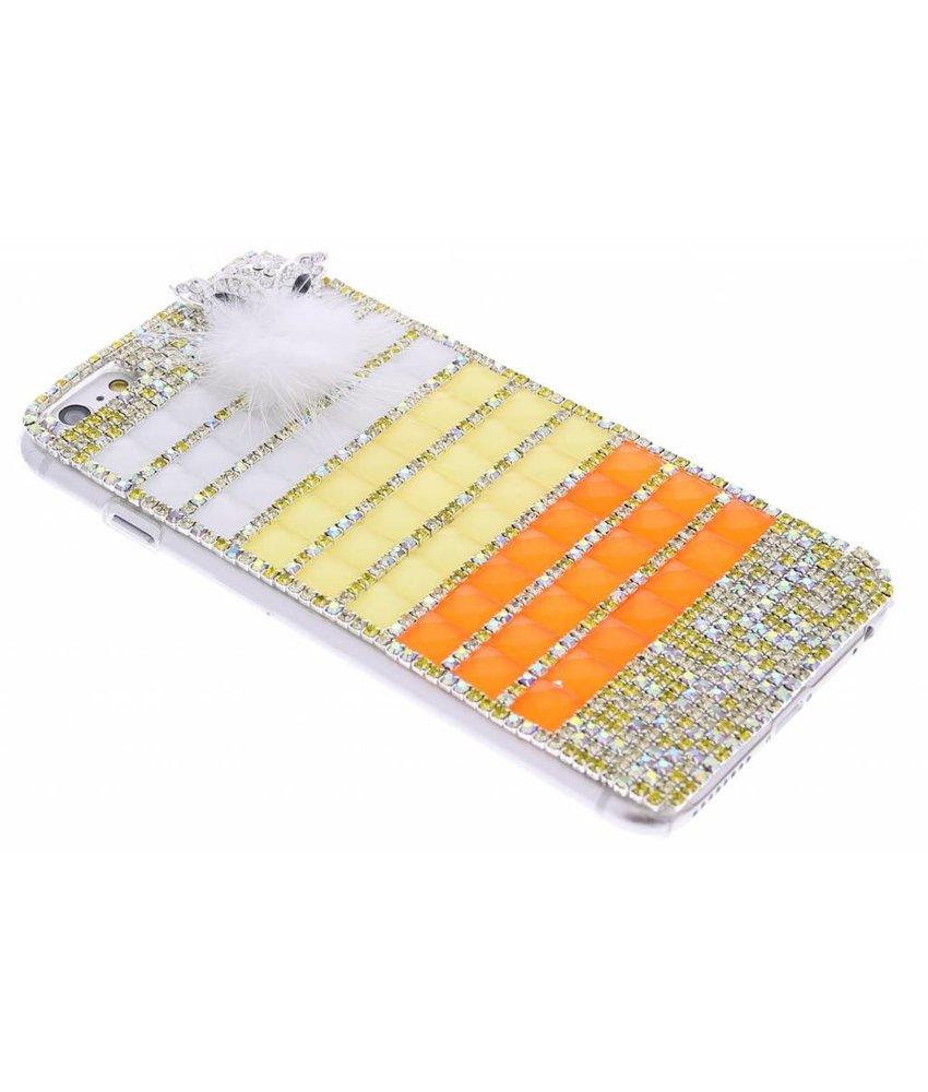Glazen strass hardcase hoesje iPhone 6(s) Plus