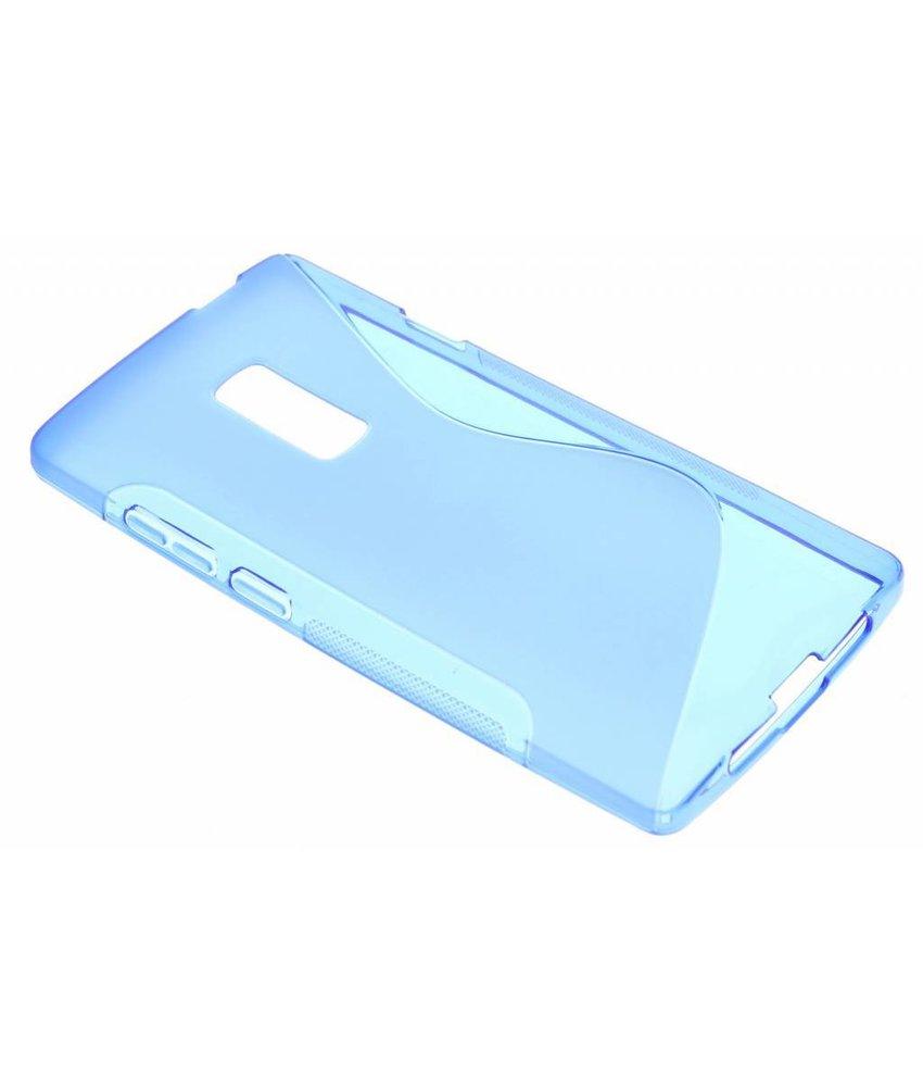 Blauw S-line TPU hoesje OnePlus 2
