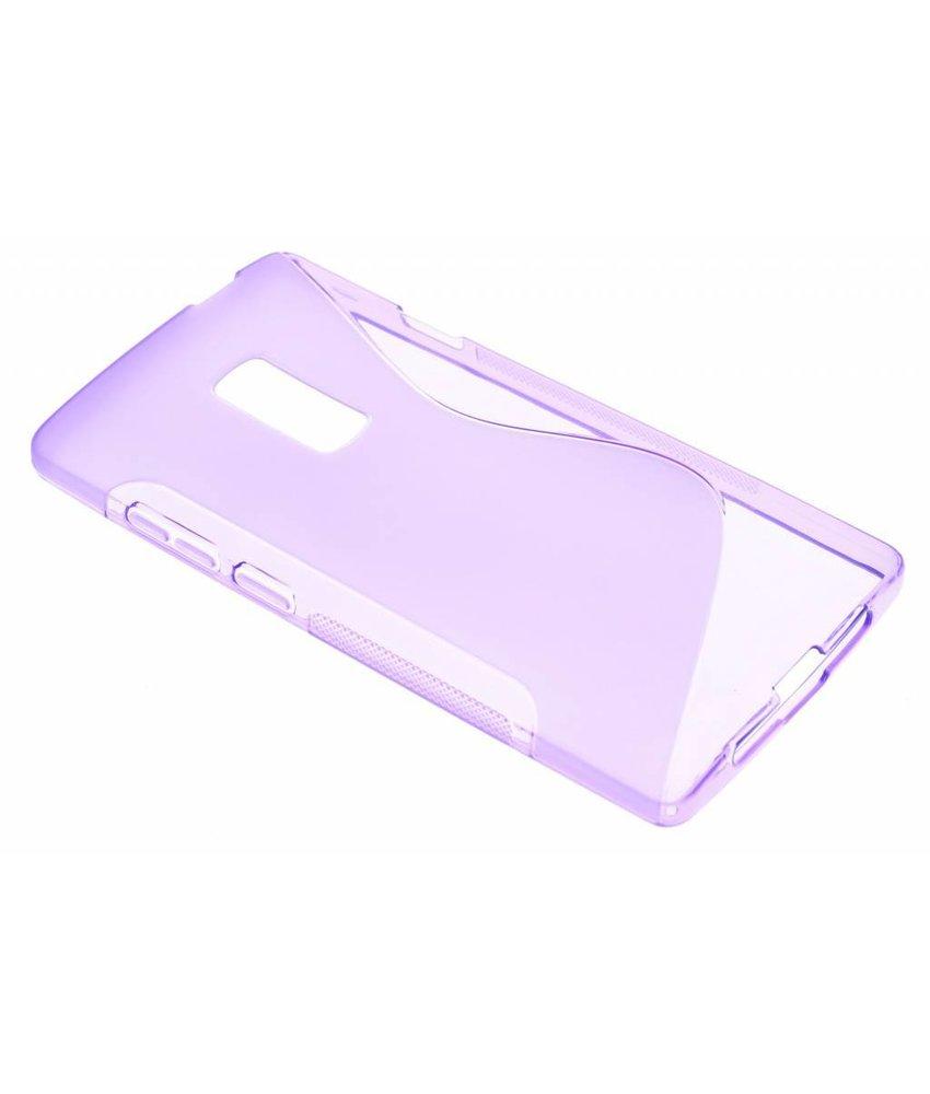 Paars S-line TPU hoesje OnePlus 2