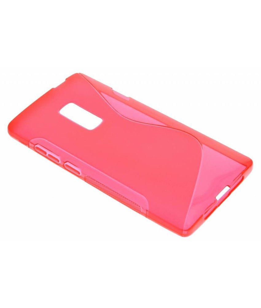 Rood S-line TPU hoesje OnePlus 2