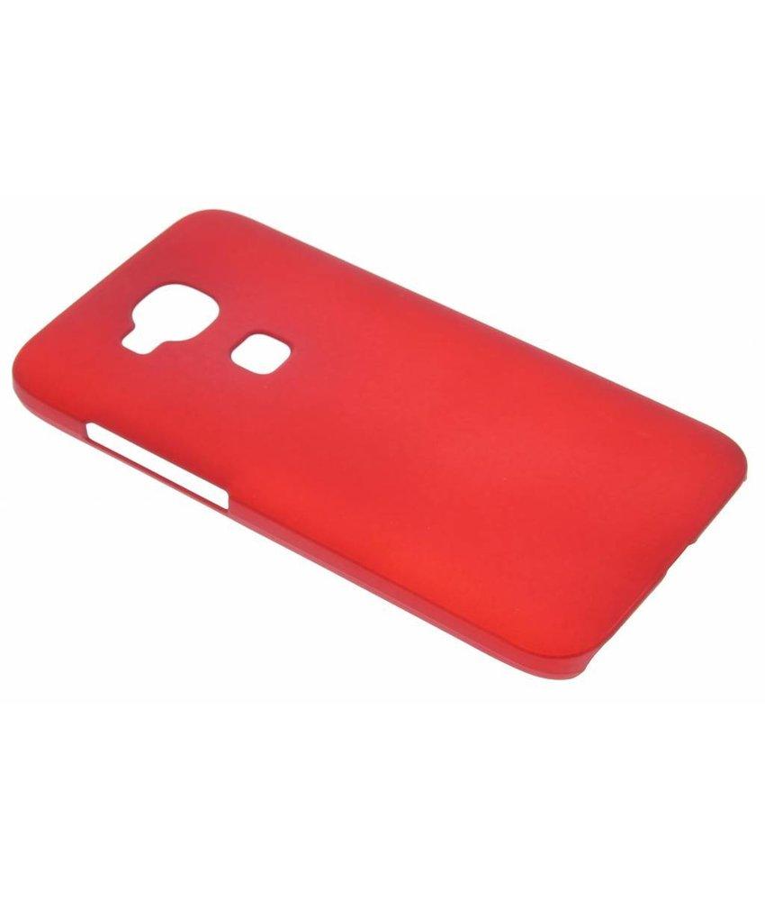 Rood effen hardcase hoesje Huawei G8