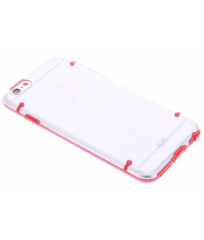 Fonex Protective TPU Case iPhone 6 / 6s - Red