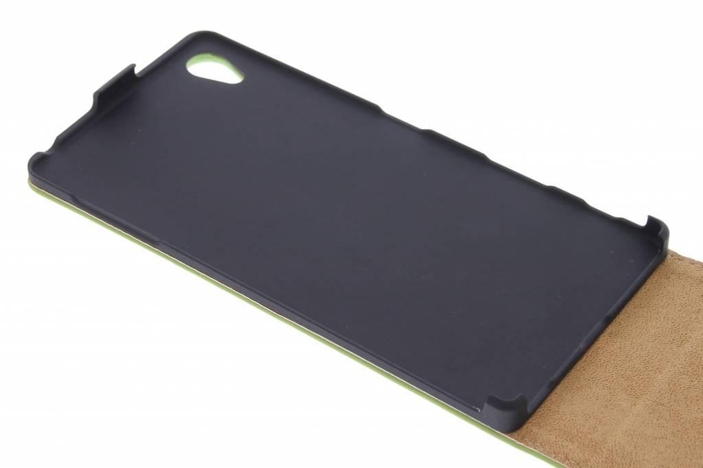 Flip Cas De Luxe Pour Sony Xperia Z5 Premium - Noir 7sns2