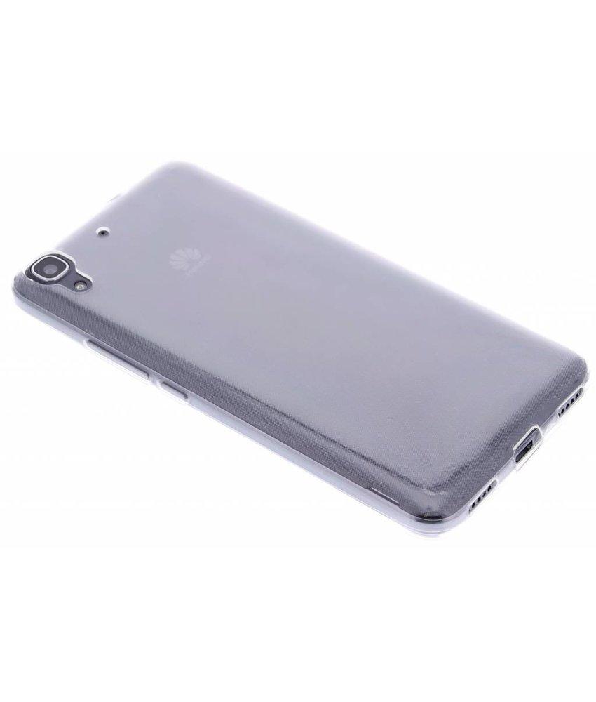 Ultra thin transparant TPU hoesje Huawei Y6