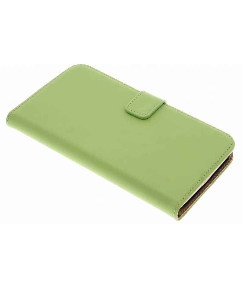 Selencia Luxe Book Case Huawei G8 - Groen