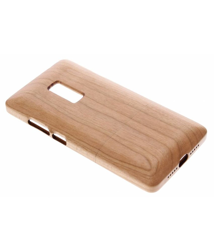 Echt houten hardcase OnePlus 2