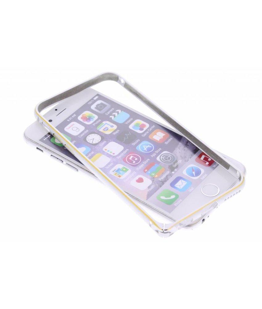 Fonex Just Bumper Aluminium iPhone 6 / 6s - Silver