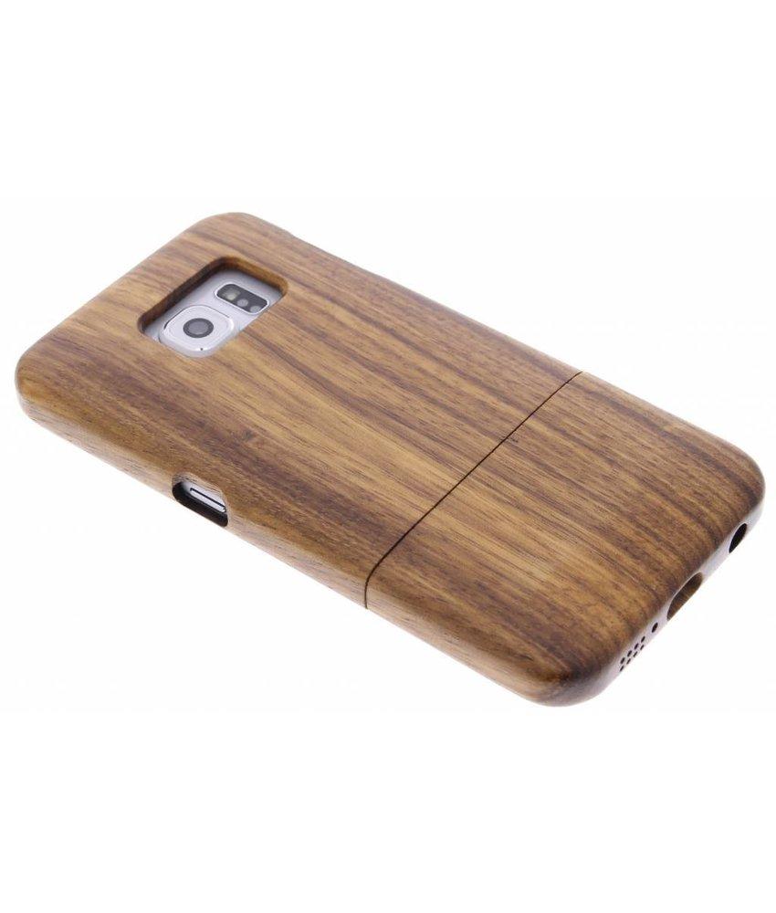 Echt houten hardcase Samsung Galaxy S6