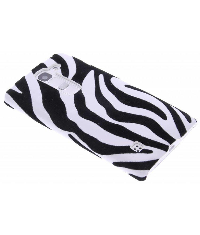 Zebra flock design hardcase hoesje LG Spirit