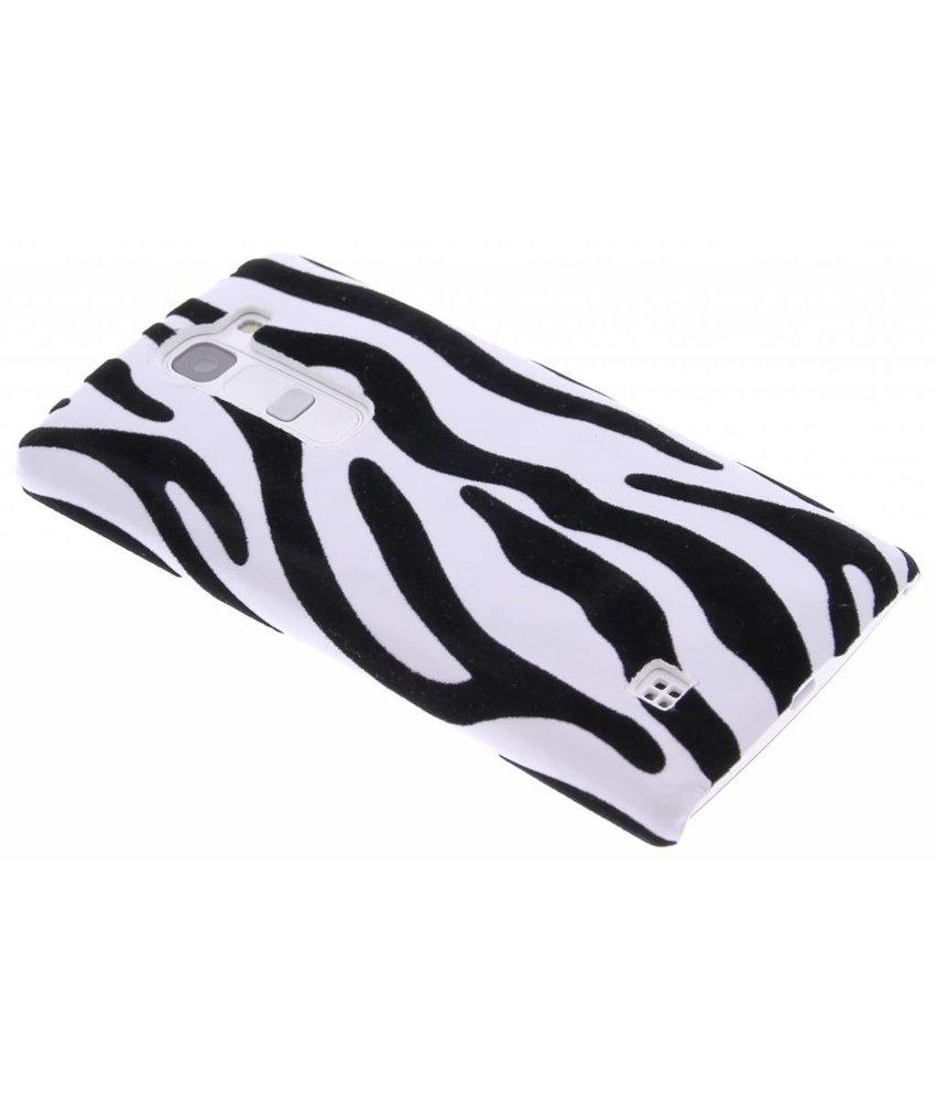 Zebra flock design hardcase hoesje LG Magna / G4c
