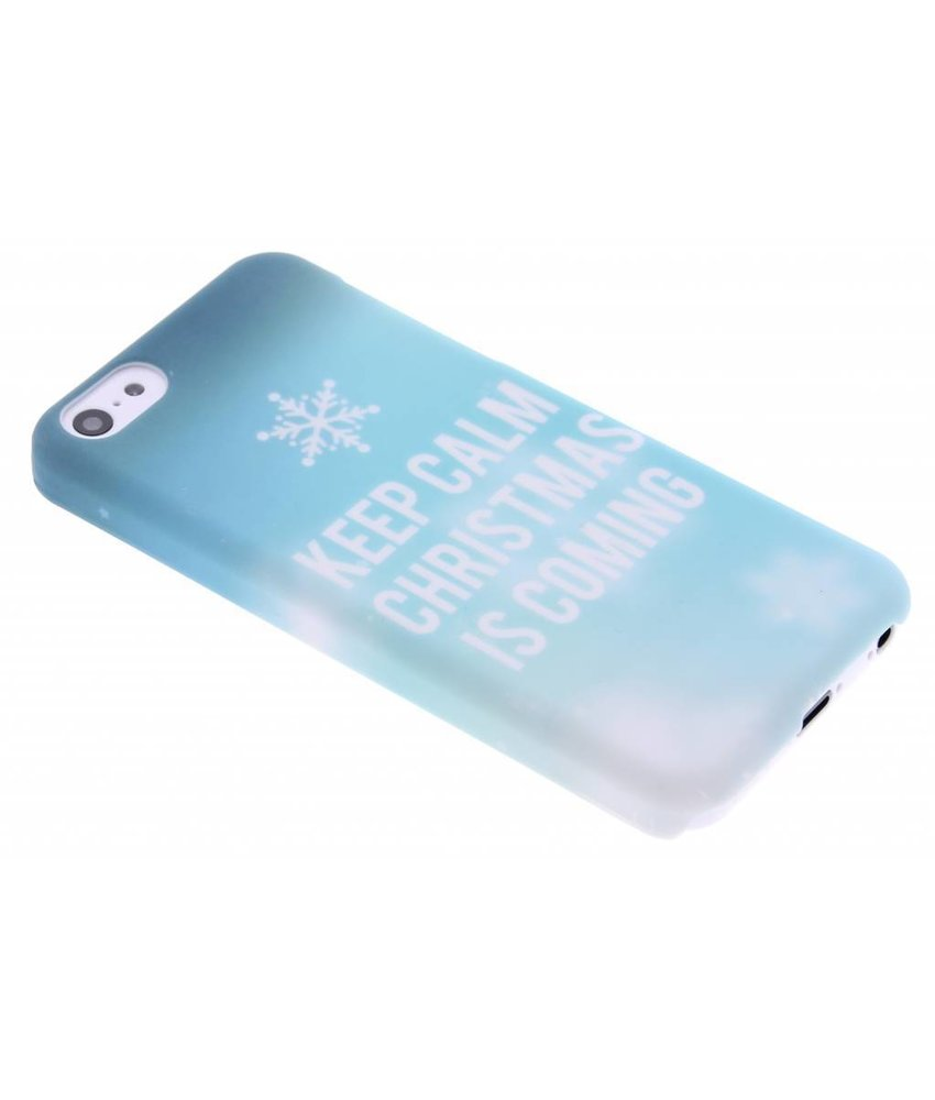 Keep Calm Christmas design hardcase iPhone 5c