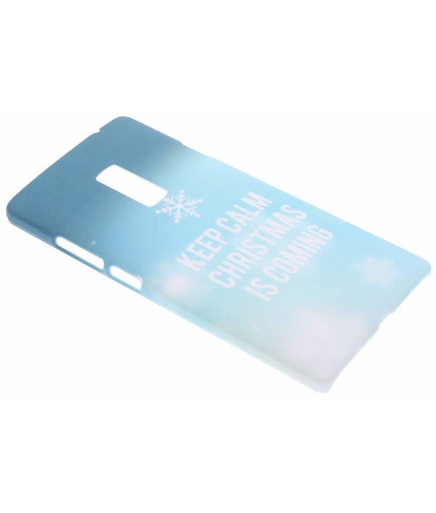 Keep Calm Christmas design hardcase OnePlus 2