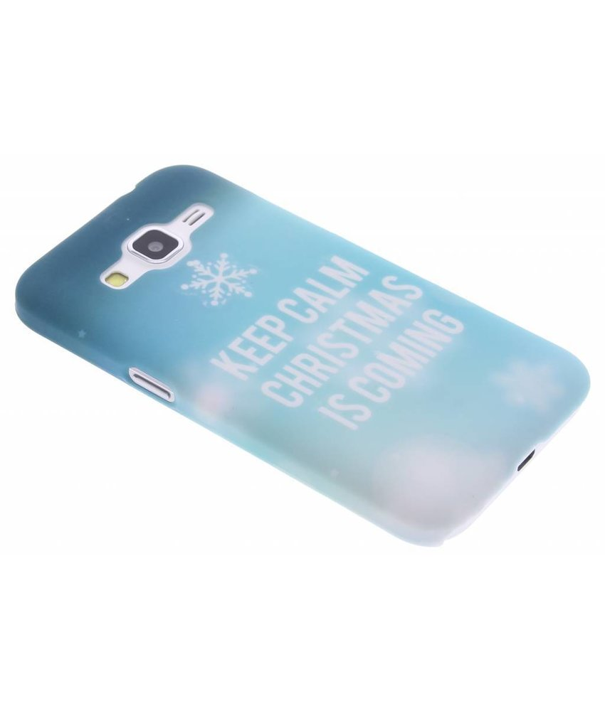 Keep Calm Christmas design hardcase Galaxy Core Prime