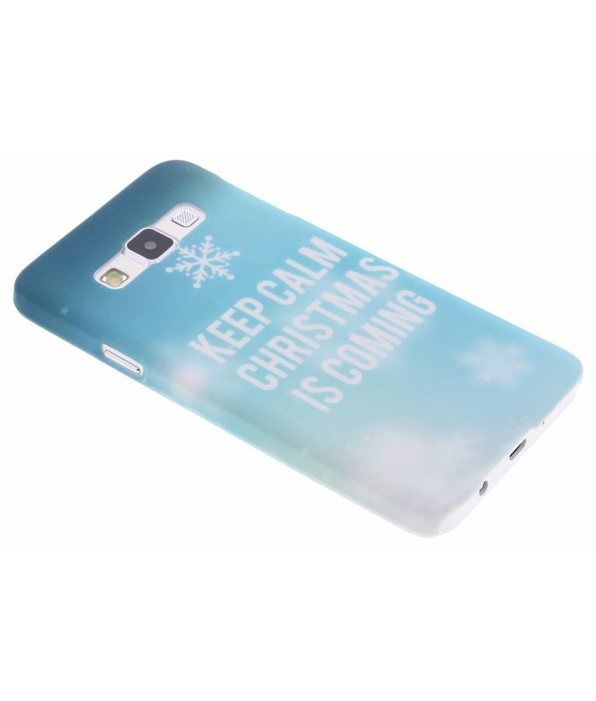 Keep Calm Christmas design hardcase Samsung Galaxy A3