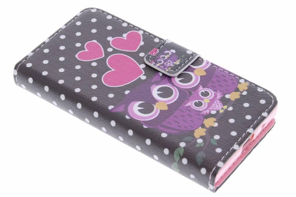 Hiboux Cas Design Booktype Tpu Pour Sony Xperia Z5 17QhX9