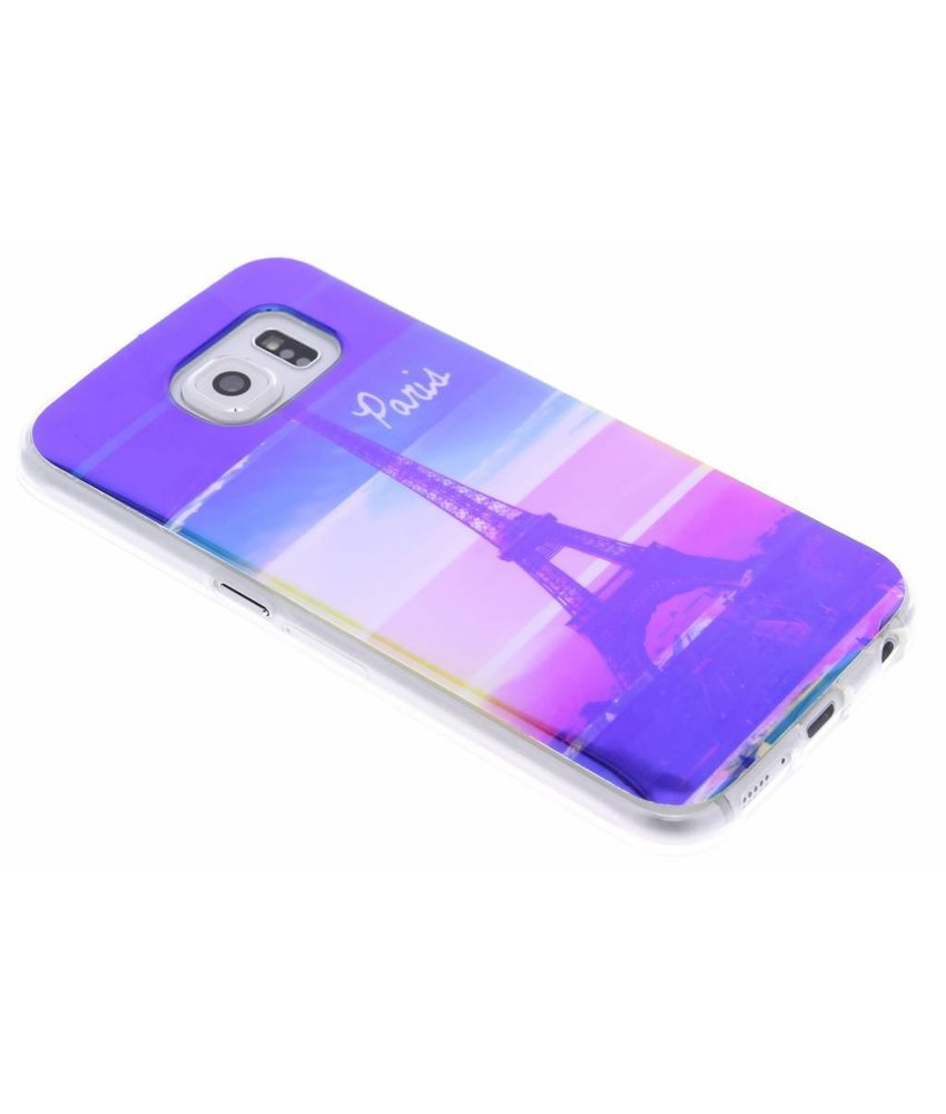 Metallic design TPU hoesje Samsung Galaxy S6