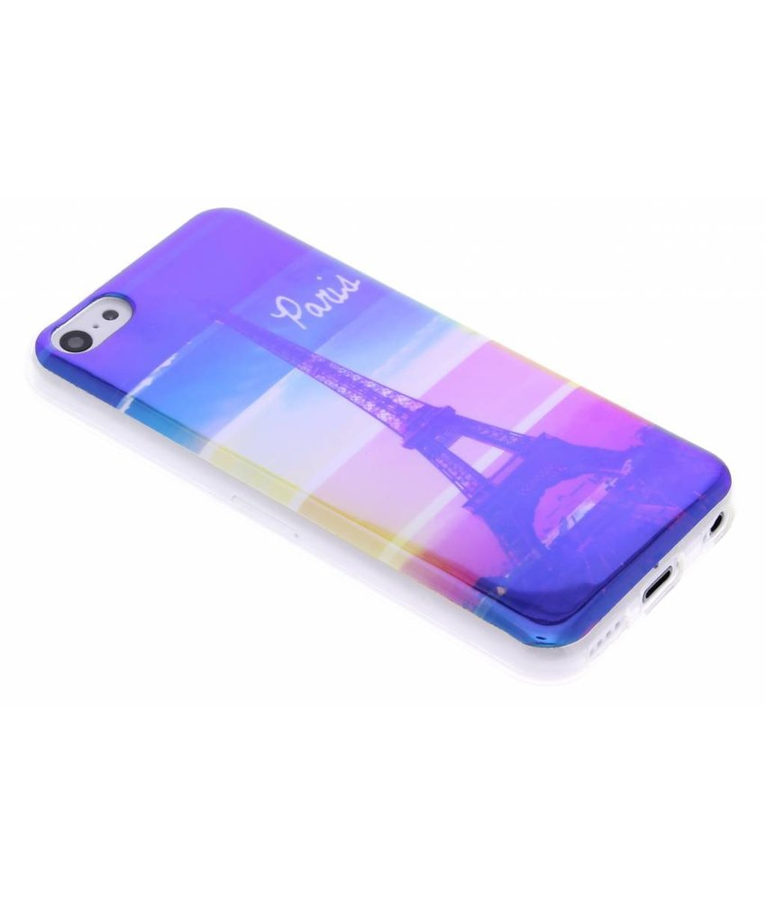 Metallic design TPU hoesje iPhone 5c