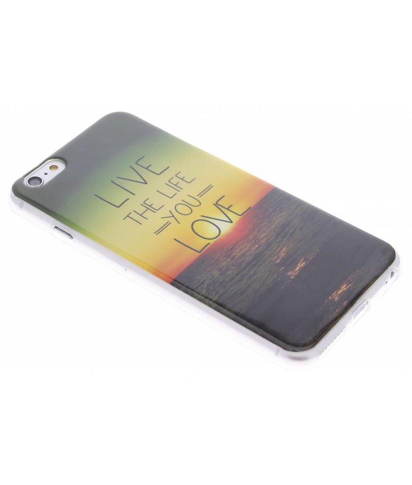 Design TPU siliconen hoesje iPhone 6(s) Plus