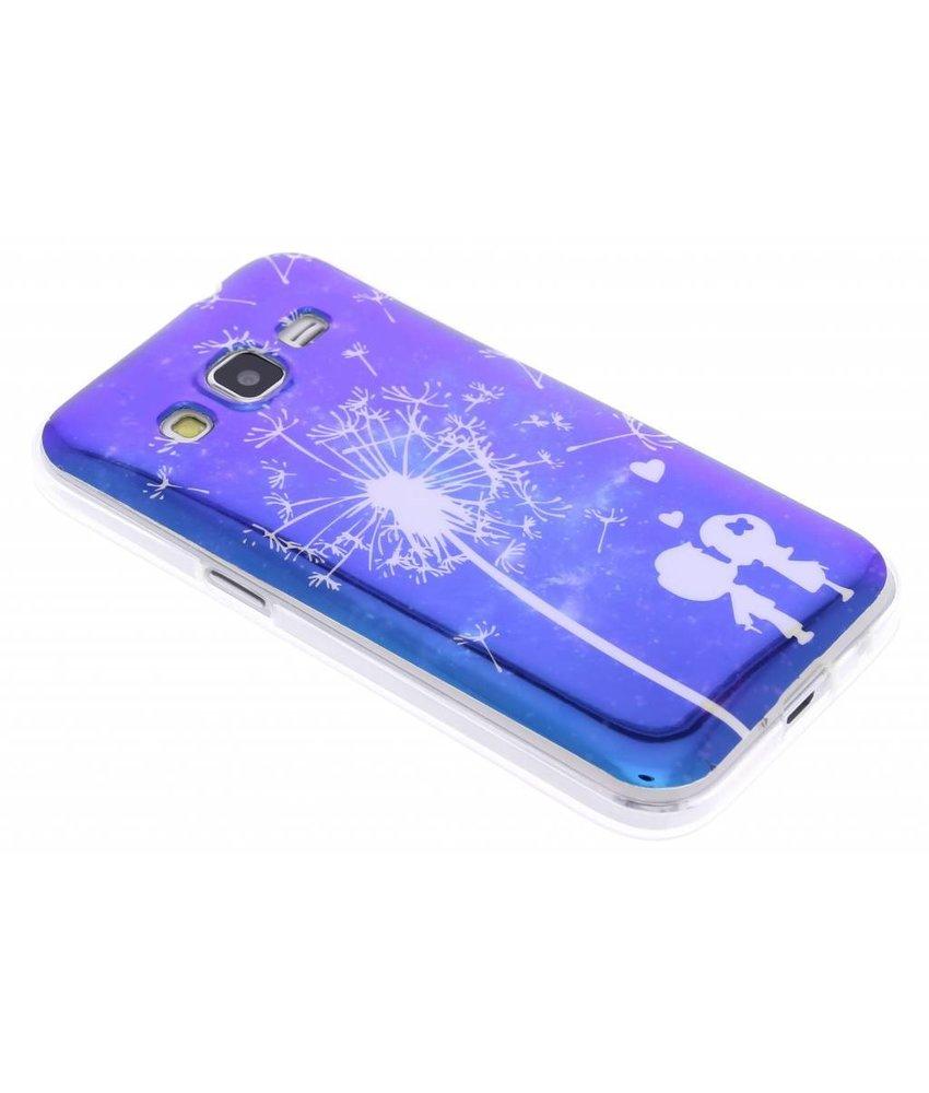 Metallic design TPU hoesje Samsung Galaxy Core Prime