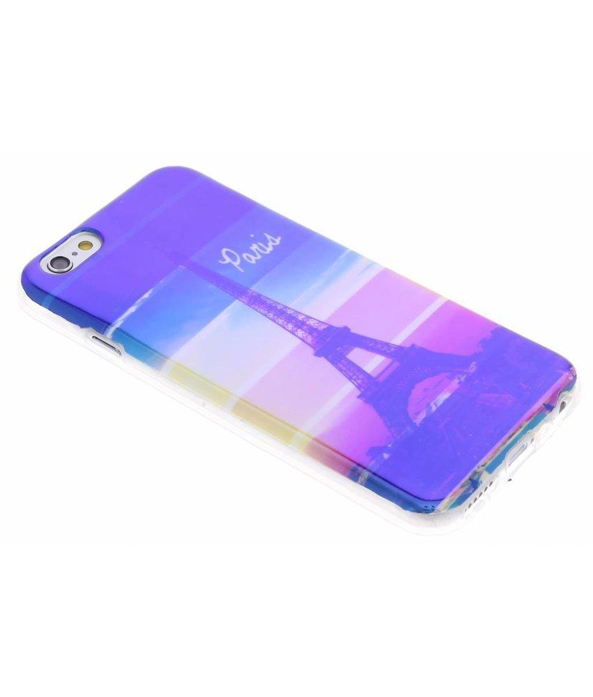 Metallic design TPU hoesje iPhone 6(s) Plus