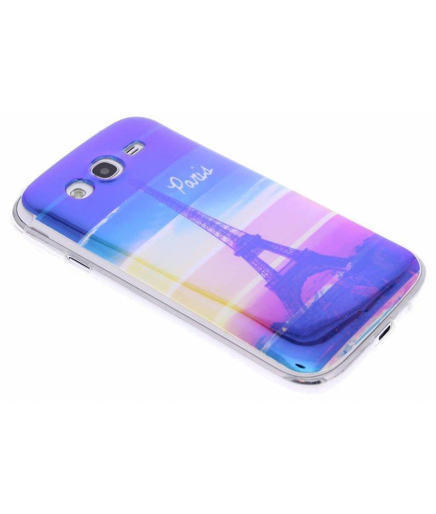 Metallic design TPU hoesje Samsung Galaxy Grand (Neo)