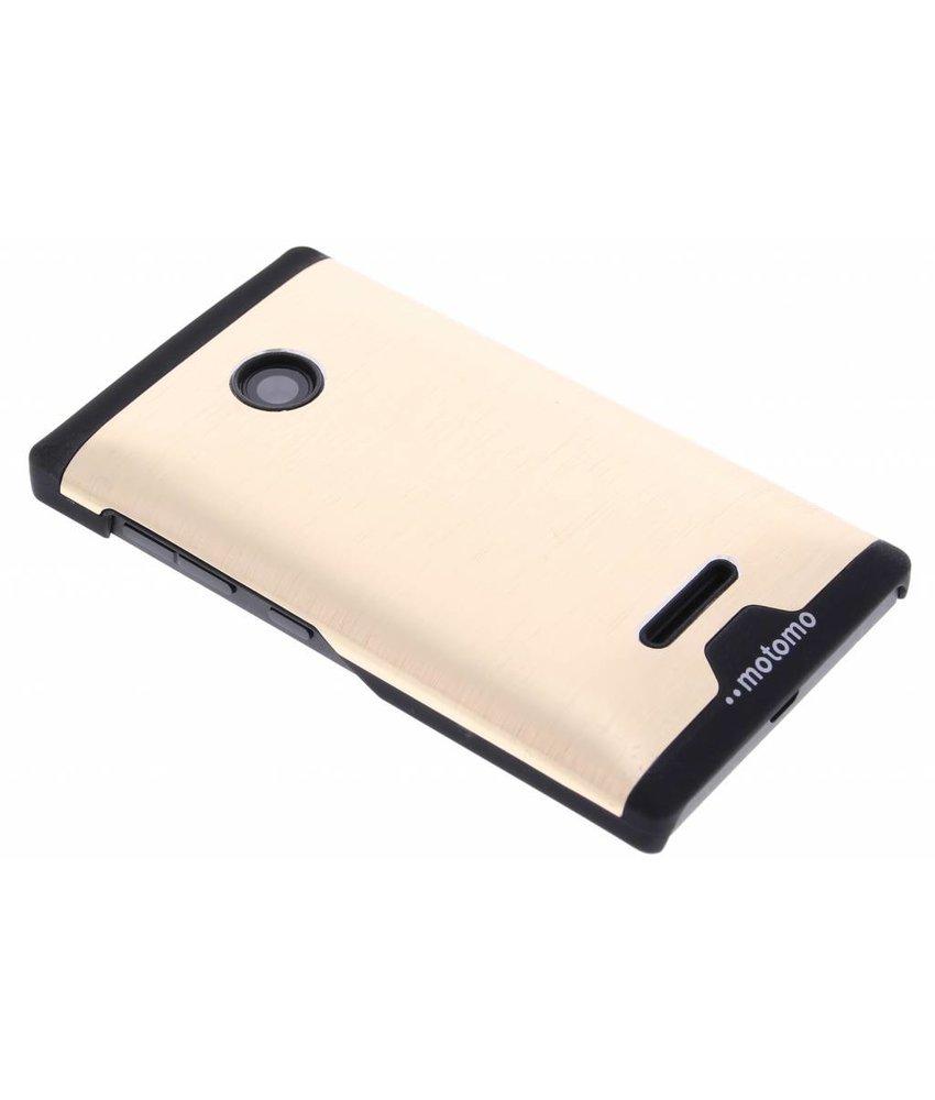 Brushed aluminium hardcase Microsoft Lumia 435