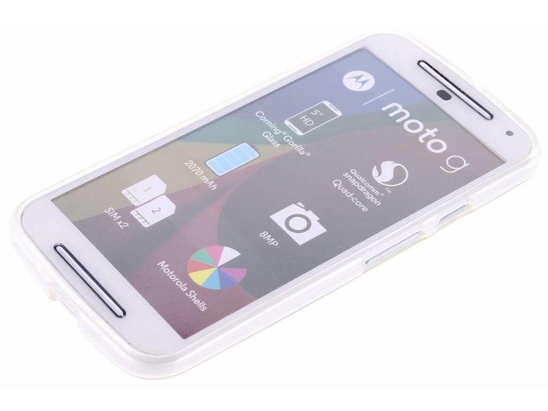 Motorola Moto G 2nd Gen 2014 hoesje - Olifant design TPU siliconen