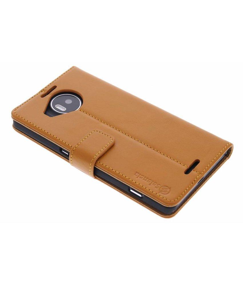 Selencia Luxe lederen Booktype Lumia 950 XL