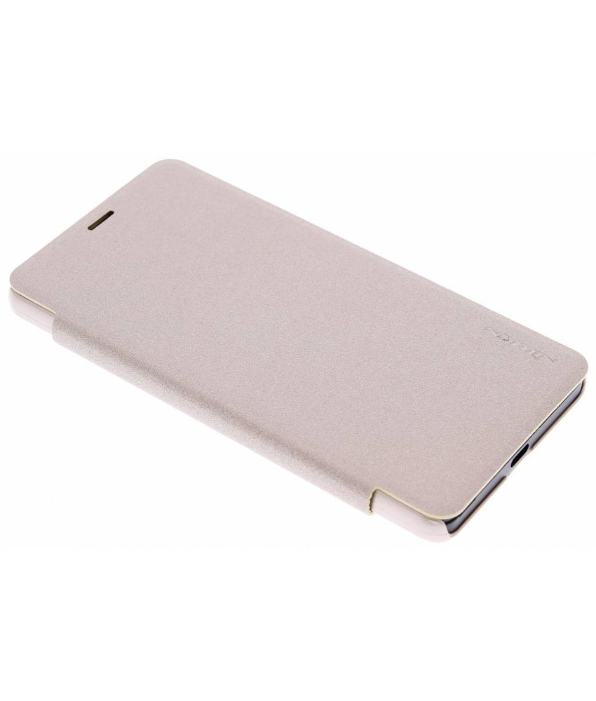 Nillkin Sparkle slim booktype Microsoft Lumia 950 - Goud