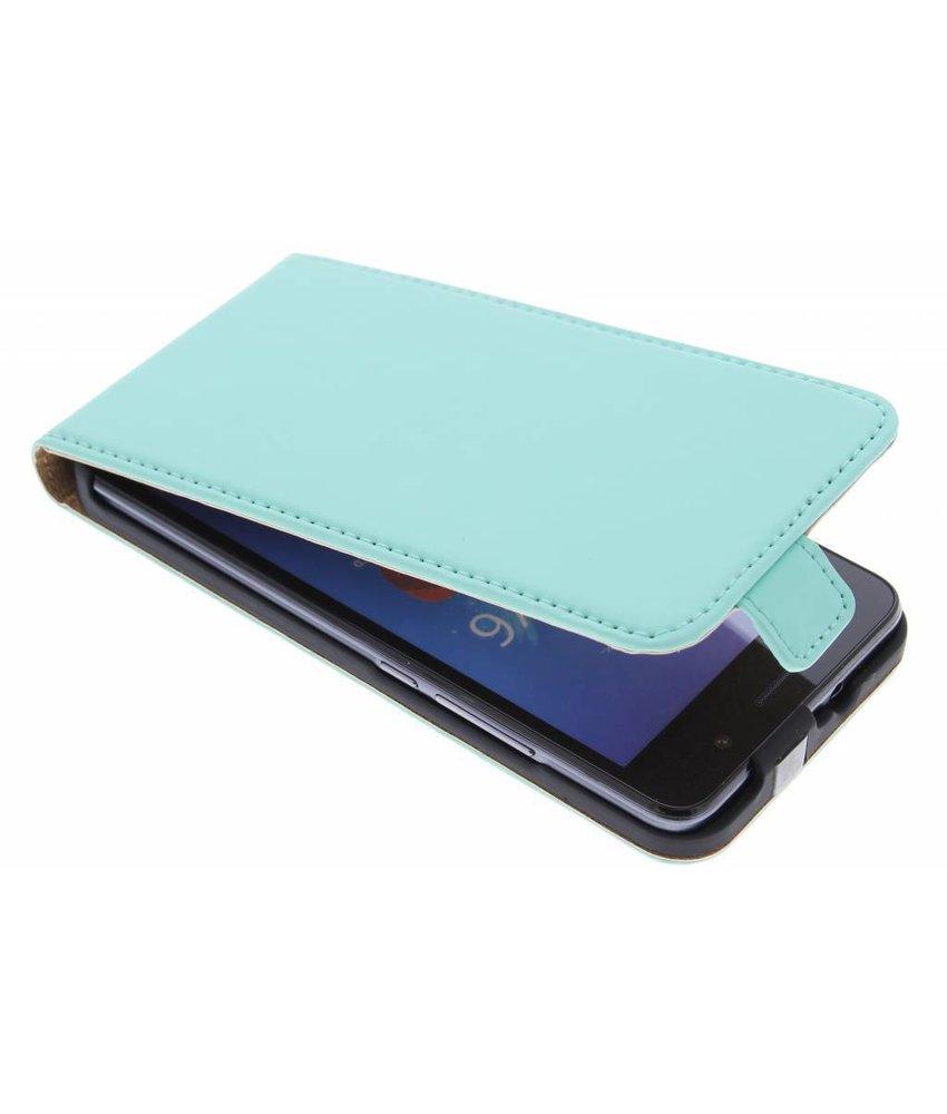 Selencia Luxe Flipcase Huawei Y6 - Mintgroen
