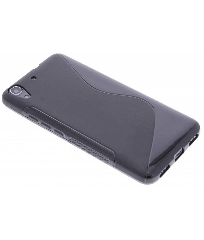 Zwart S-line TPU hoesje Huawei Y6