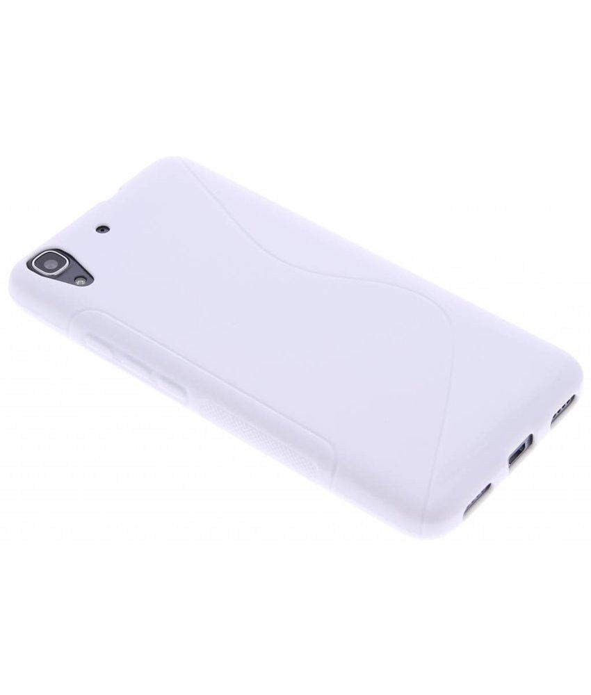 Wit S-line TPU hoesje Huawei Y6