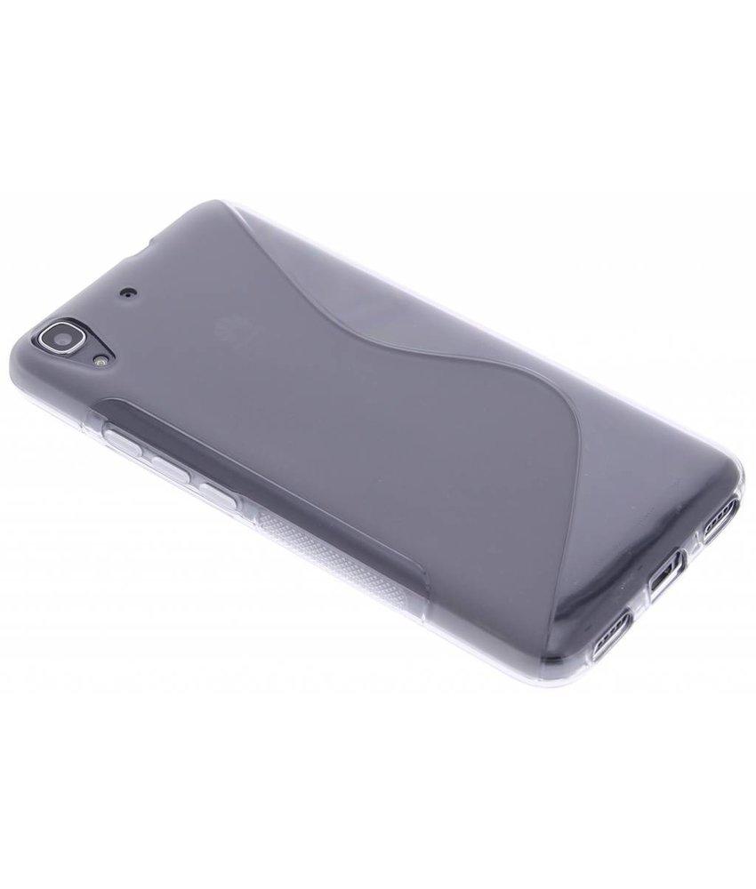 Grijs S-line TPU hoesje Huawei Y6