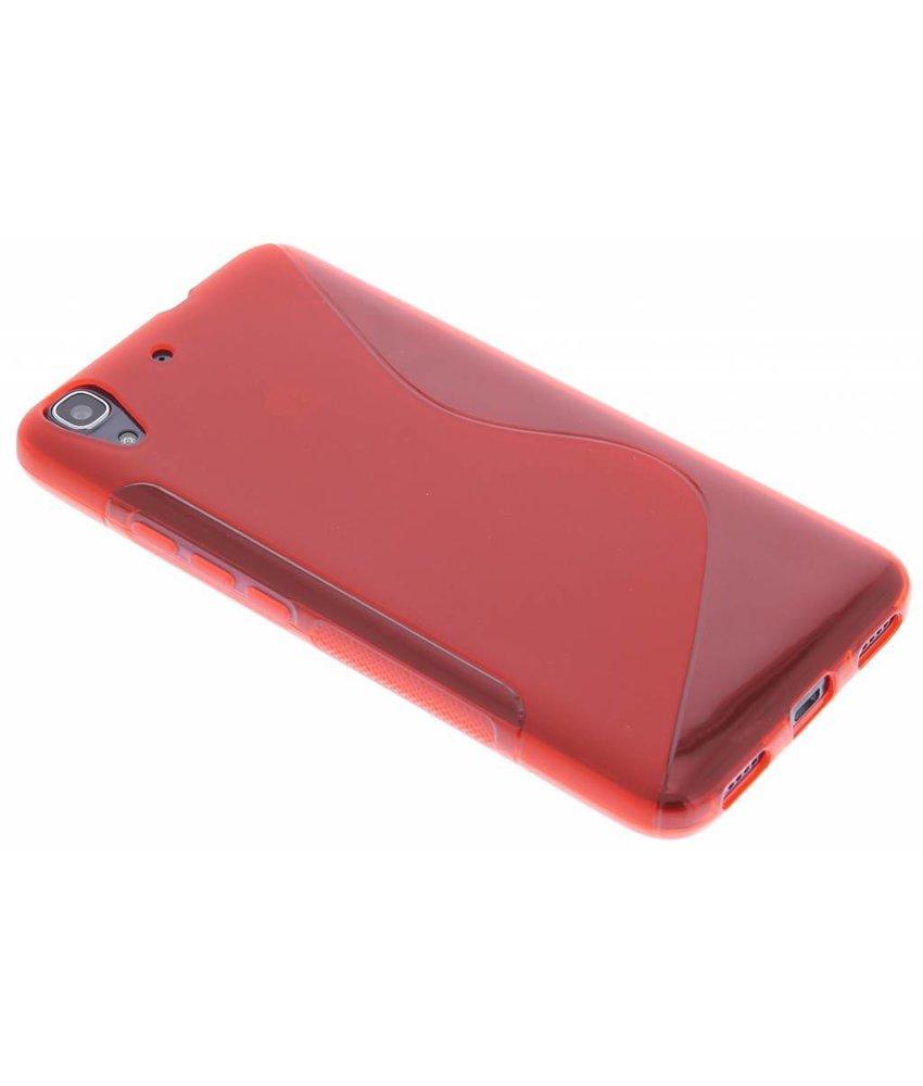 Rood S-line TPU hoesje Huawei Y6