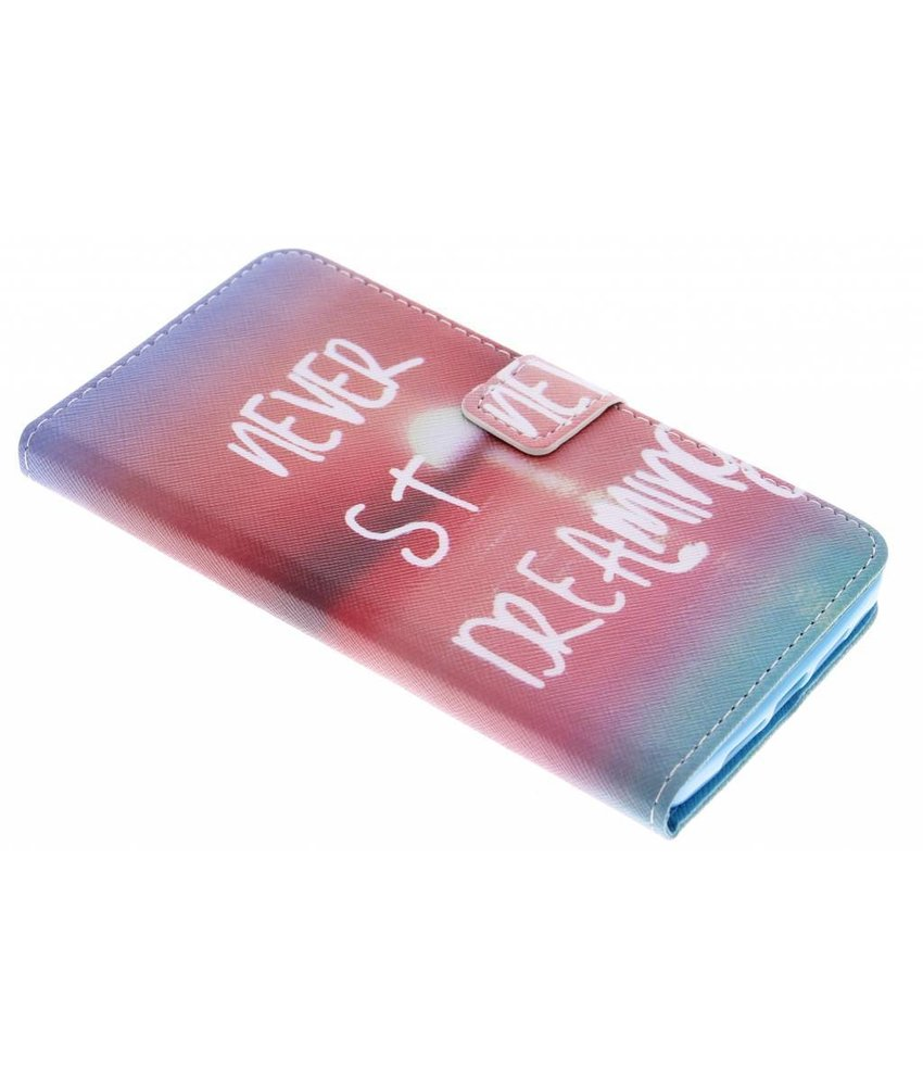 Design TPU booktype hoes OnePlus 2