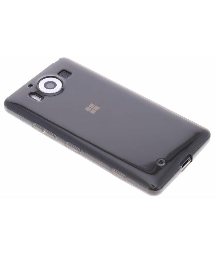 Grijs transparant gel case Microsoft Lumia 950