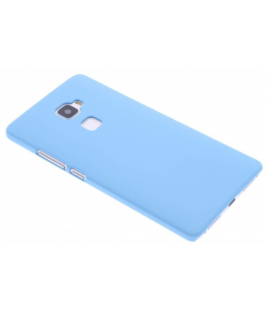 Turquoise effen hardcase hoesje Huawei Mate S