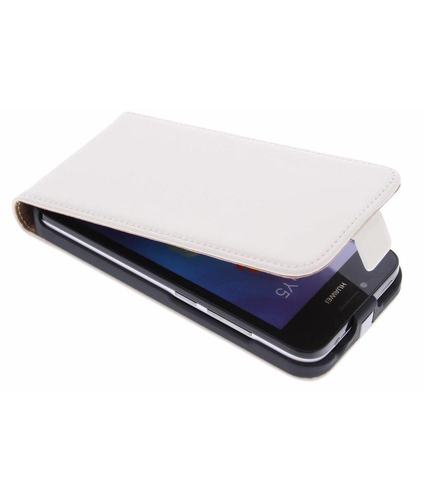 Mobiparts Premium Flipcase Huawei Y5 - White
