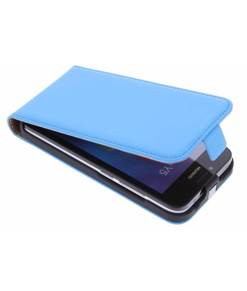 Mobiparts Premium Flipcase Huawei Y5 - Light Blue