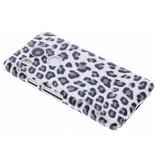 Grijs luipaard design hardcase hoesje voor de LG Nexus 5X